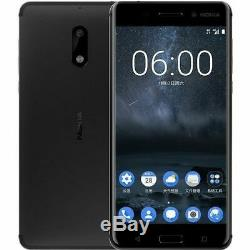 Smartphone Android Déverrouillé Par Le Nouveau Nokia 6, 32 Go, 4g Lte 5.5, LCD 16mp, 3 Go De Ram