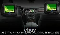 Sonic 2x7 Digital LCD Tft Screen Car Headrest DVD Player Pillow Monitor, Hr7