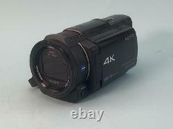 Sony Handycam Ax33 Mémoire Flash 4k Caméscope D'enregistrement Vidéo Hd Caméra Fdr-ax33