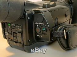 Sony Nxcam Hxr-nx70e Full Hd 96gb Sd Gestion & 3.5 LCD Avchd Caméscope Nx70
