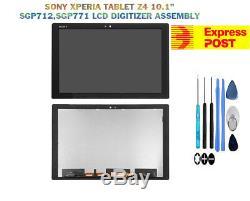 Sony Xperia Tablet Z4 Sgp771 Sgp712 10.1 Écran LCD + Unité De Numérisation D'écran Tactile
