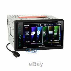 Soundstream Gps Bluetooth Stéréo Dash Kit Amp Harnais Pour Gm Chevrolet Pontiac