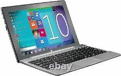 Supersonic 10.1 Ips Écran Tactile 2 Go Ram/32gb W10 2-en-1 Ordinateur Portable / Tablette Sc1032w