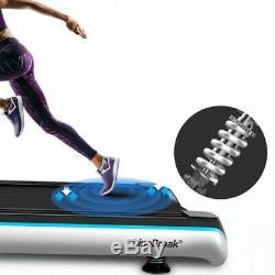 Tapis Roulant Pliant Accueil Exercice Bluetooth Haut-parleurs Écran Hd LCD Multifonctions