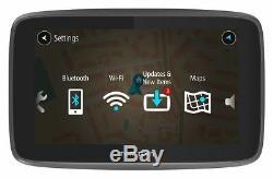Tomtom Go 5200 Cartes LCD Ue De 5 Pouces Avec Affichage Du Trafic Et Navigation Numériques
