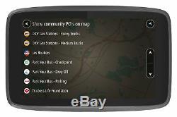 Tomtom Go 520 Professional 5 Pouces LCD Bluetooth Ue Trafic Voiture Et Maitrisés Sat Nav