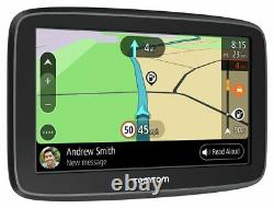 Tomtom Go Basic 5 Pouces Wifi Europe Cartes À Vie Et Trafic LCD Sat Nav