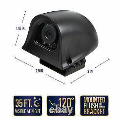 Trailer Blind Spot Backup Camera System 7 Tft Écran LCD 120° Vue Étanche
