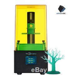 Ue Anycubic Photon Zéro LCD 3d Imprimante Uv Résine Photopolymérisation 2.8 Écran Tactile