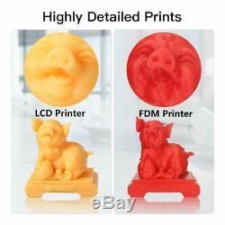 Ue Stock Anycubic Sla LCD Photon Résine Imprimante 3d 2.8 Écran Tactile + 500g De Résine