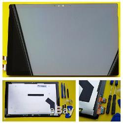 Véritable Microsoft Surface Pro 4 1724 12.3 LCD Écran Tactile Digitizer