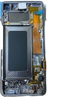 Véritable Samsung Galaxy S10 G973f LCD Touch Display Screen Black Service Pack