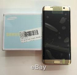 Véritable Samsung Galaxy S7 Edge, F G935, Fd, Duos Or LCD Assemblée