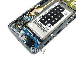 Véritable Samsung Galaxy S9 G960f Amoled LCD Écran Écran Titanium Gris