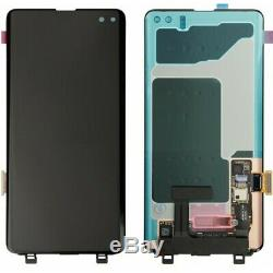 Véritable Samsung S10 Plus G975f LCD De Remplacement Écran Tactile Super Amoled