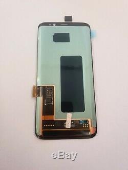 Véritable Samsung S8 G950f LCD De Remplacement Écran Tactile Super Amoled